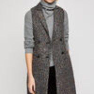 BCBGeneration Jackets & Coats - Bcbgeneration double breasted long vest